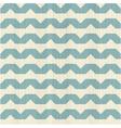 Horizontal wave pattern vector image vector image