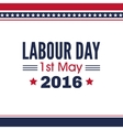 Labour Day background vector image