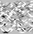 grayscale futuristic geometric pattern vector image