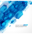 Abstract technology futuristic hexagon lines backg vector image
