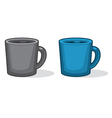 Cup of fresh coffee or tea vector image