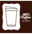 coffee house design vector image