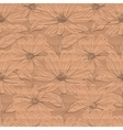 Creative floral wallpaper Seamless pattern of vector image