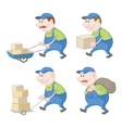 Loaders set vector image