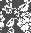 White Rose seamless pattern Retro floral texture vector image