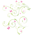 floral designs vector image