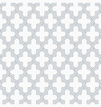 arabesque quatrefoil lattice pattern outline vector image