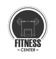 weight icon Fitness design graphic vector image