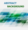 abstract blue and green geometric overlapping vector image