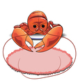 53lobster vector image vector image