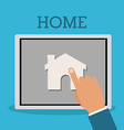 Home design vector image