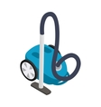 Vacuum cleaner icon isometric 3d style vector image vector image