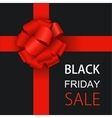 modern black friday background vector image