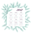 New Year calendar vector image
