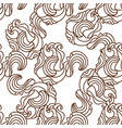seamless abstract pattern in black and whi vector image