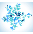 abstract bright water splash vector image vector image