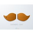 modern fathers day background vector image