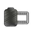 photo roll isolated icon vector image