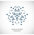 background pattern network Design dots and vector image
