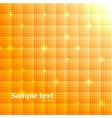 Background with glows texture cells vector image