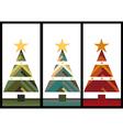 christmas set elements for design vector image