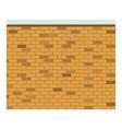 colorful image realistic brick wall seamless vector image