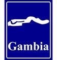 Gambia vector image vector image