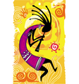 dancing figure vector image