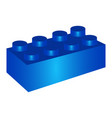 build block toy vector image