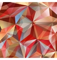 Red Triangle Abstract Background vector image