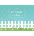 summer g fence vector image