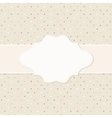 Frame on the paper background vector image vector image
