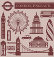 Landmark of London vector image