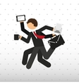 businessman concept design vector image