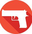 Gun Icon vector image