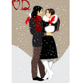 couple999 vector image vector image
