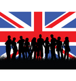British youth vector image vector image