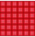 Red Tartan Background vector image