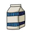 milk icon image vector image