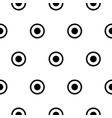 circles polka dot simple seamless pattern vector image