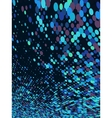 Abstract dot blue mosaic background EPS 10 vector image vector image