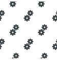 gear pattern flat vector image