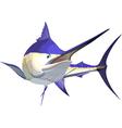 marlin6 vector image