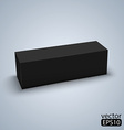 Package black box design vector image