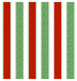 Christmas Line Pattern Background vector image