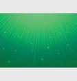 Green star pattern vector image
