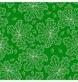 oak pattern green vector image