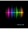Music equalizer vector image vector image