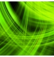 Green energy jet background EPS 10 vector image