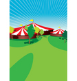 country fair vector image vector image